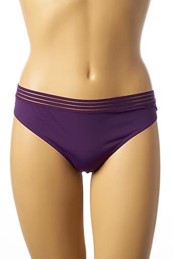 String/Tanga violet ETAM pour femme