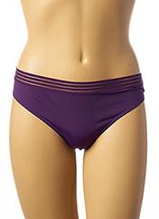 String/Tanga violet ETAM pour femme seconde vue
