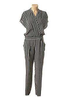 Combi-pantalon noir ZAPA pour femme