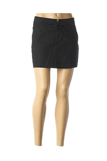 Mini-jupe noir OXBOW pour femme