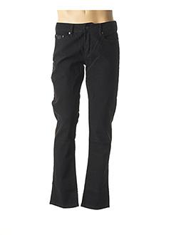 Jeans coupe droite noir CHEVIGNON pour homme