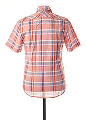 Chemise manches courtes orange MCS pour homme seconde vue