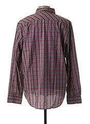 Chemise manches longues rouge MCS pour homme seconde vue