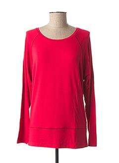 T-shirt manches longues rouge ZAPA pour femme