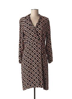 Robe mi-longue noir NICE THINGS pour femme