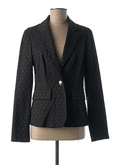Veste chic / Blazer noir 3322 pour femme