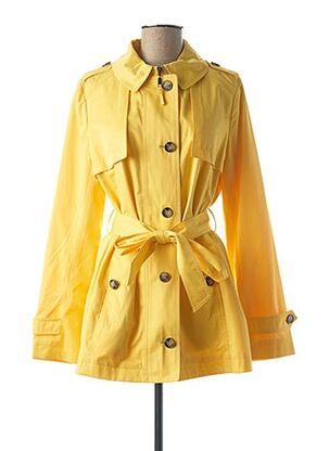 Imperméable/Trench jaune COMMA, pour femme