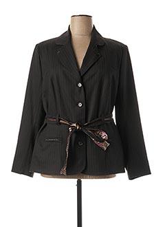 Veste casual marron FRED SABATIER pour femme