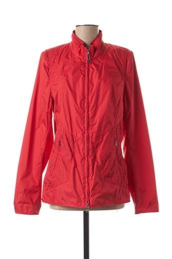Coupe-vent rouge CREENSTONE pour femme