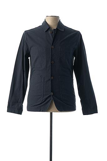 Veste casual bleu SELECTED pour homme