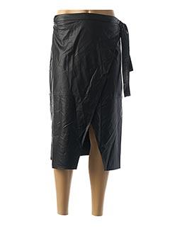 Jupe mi-longue noir IMPERIAL pour femme