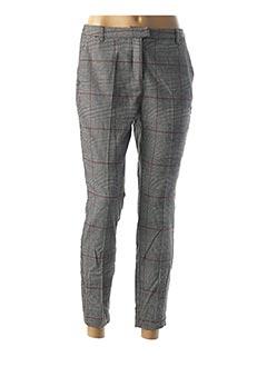 Pantalon casual gris CREAM pour femme