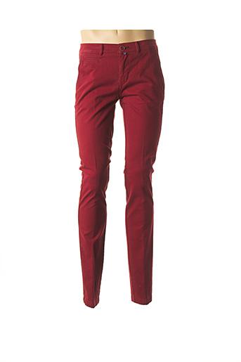 Pantalon casual rouge EMYLE pour homme