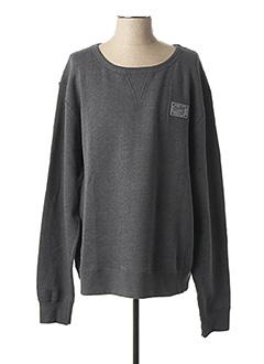 Sweat-shirt gris SHILTON pour homme