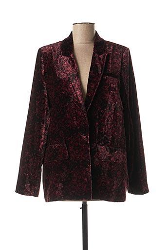 Veste chic / Blazer rouge BERENICE pour femme
