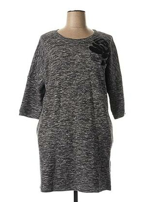 Robe pull noir ARMANI pour femme