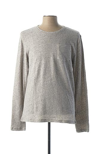 Sweat-shirt gris SCOTCH & SODA pour homme