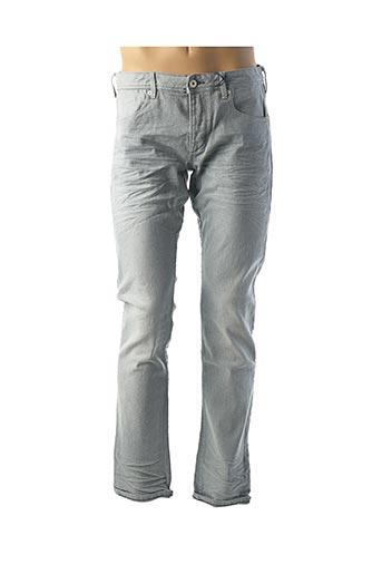 Jeans coupe droite bleu SCOTCH & SODA pour homme