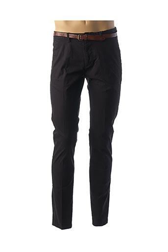 Pantalon casual noir SCOTCH & SODA pour homme