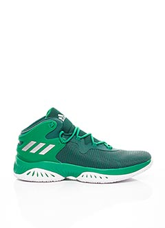 Baskets vert ADIDAS pour homme