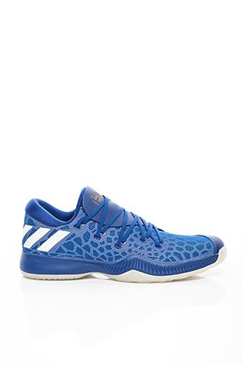 Baskets bleu ADIDAS pour homme