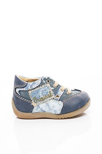 Bottines/Boots bleu LITTLE MARY pour garçon
