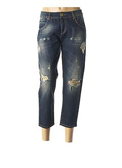Jeans boyfriend bleu GLÜEN pour femme