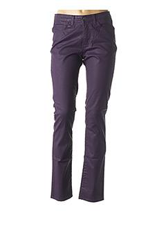 Pantalon chic violet KANOPE pour femme
