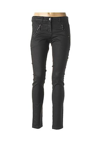 Pantalon chic noir TOM TAILOR pour femme