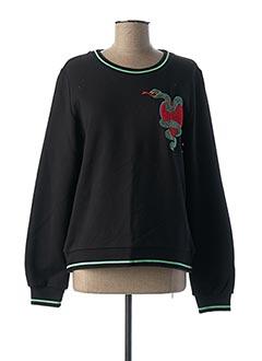 Sweat-shirt noir IDANO pour femme