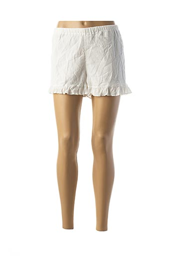 Short blanc BRIGITTE BARDOT pour femme