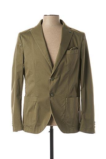 Veste chic / Blazer vert MANUEL RITZ pour homme