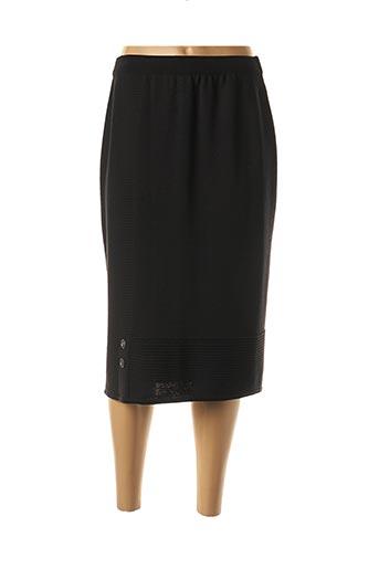 Jupe mi-longue noir PAUPORTÉ pour femme