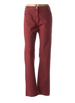 Pantalon casual rouge KARTING pour femme