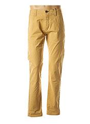 Pantalon casual jaune DSTREZZED pour homme seconde vue