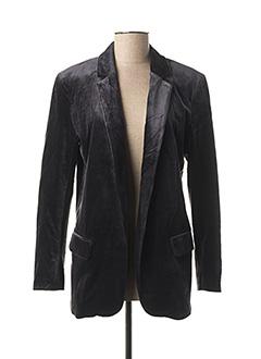 Veste chic / Blazer gris YAYA pour femme