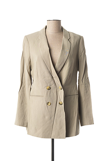 Veste chic / Blazer vert YAYA pour femme