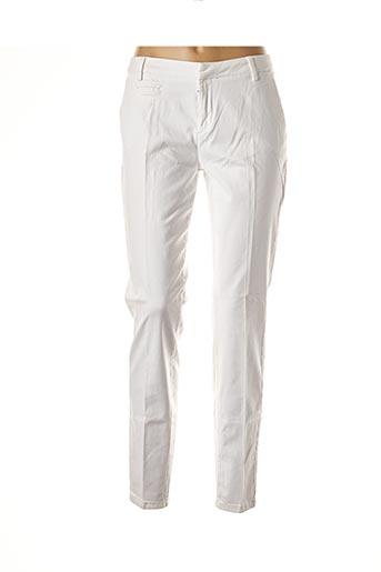 Pantalon chic blanc YAYA pour femme