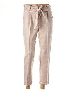 Pantalon 7/8 beige CAPSULE pour femme