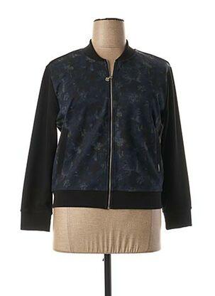 Veste casual bleu FRANCK ANNA pour femme