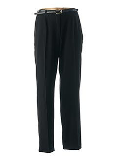 Pantalon chic noir GLORIA RG pour femme