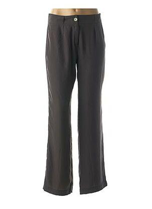 Pantalon chic gris POUSSIERE D'ETOLE pour femme