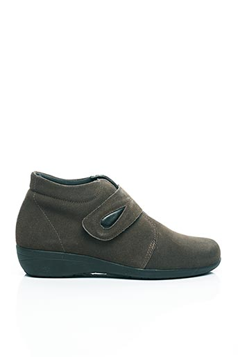 Bottines/Boots marron AYOKA pour femme