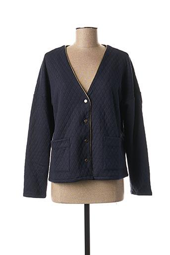 Veste casual bleu VILA pour femme