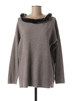 Veste casual gris PASSIONI pour femme