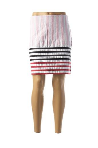 Jupe courte rose COP COPINE pour femme