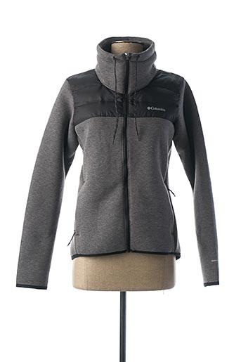 Veste casual gris COLUMBIA pour femme