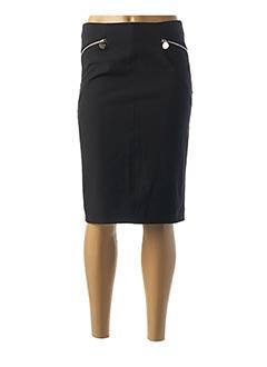Jupe mi-longue noir MARCIANO pour femme