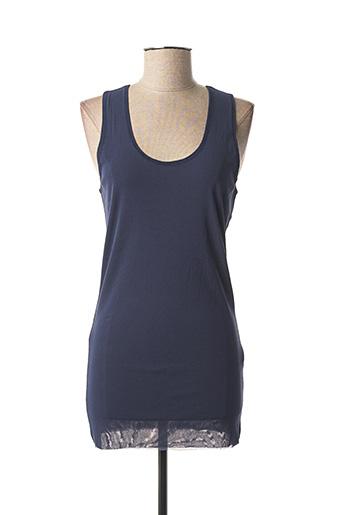 Top bleu TWINSET pour femme