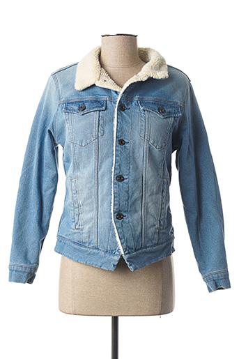 Veste en jean bleu G STAR pour fille